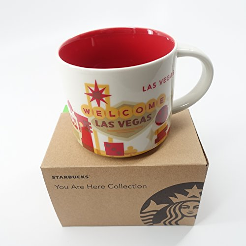 Starbucks Las Vegas Cup Coffee Mug You Are Here Collection Collection Coffee Cup