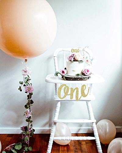 1st First Birthday Decoration Set One High Chair Banner And Cake