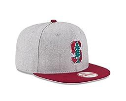 NCAA Stanford Cardinal Bind Back 9Fifty Snapback Cap, Medium/Large, Gray