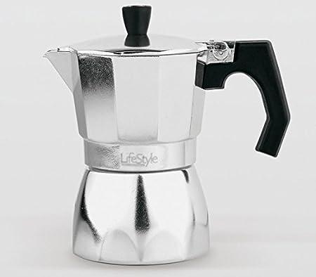 Lifestyle - Cafetera aluminio la italiana - 3 tazas