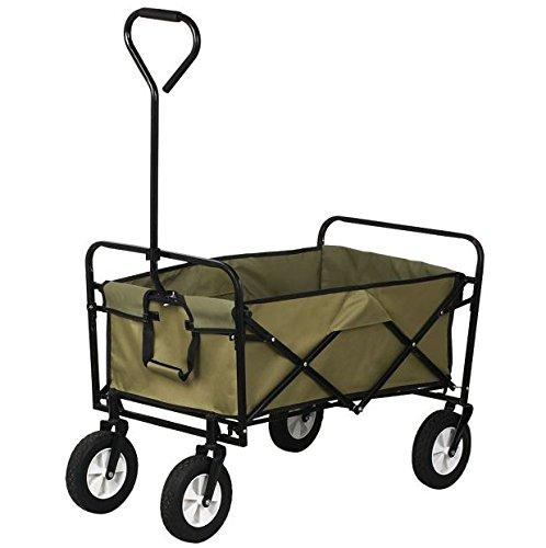 new-collapsible-wagon-folding-utility-cart-garden-lawn-buggy-dump-outdoor-wheelbarrow-trailer-shoppi