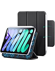 ESR Magnetic Case Compatible with iPad Mini 6 (8.3 inch, 2021), Convenient Magnetic Attachment, Auto Sleep/Wake, Fully Supports Pencil 2, Slim and Silky Cover, Rebound Series, Black