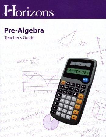 Alpha Omega Publications Horizons Pre-Algebra Teacher's Guide