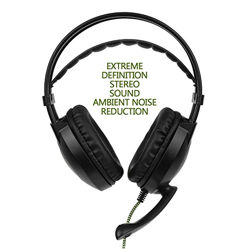 Amazon Com Sades Sa 801 3 5mm Gaming Headset With Microphone Cell