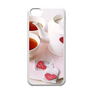 Afternoon Tea Unique Design Cover Case with Hard Shell Protection for iphone 4s Case lxa#412268
