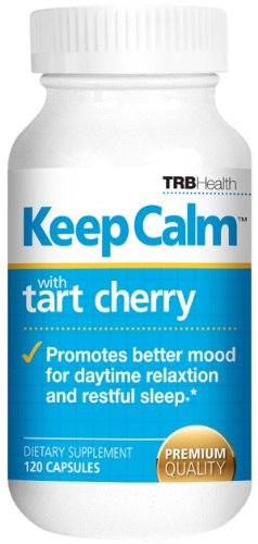 Keep Calm: Nature's Relaxant with Tart Cherry Extract 120 capsules