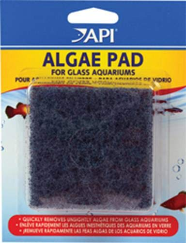 API HAND HELD ALGAE PAD For Glass Aquariums 1-Count Container