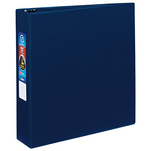 Avery Heavy-Duty Binder with 2-Inch One Touch EZD Ring, Navy Blue (79822)