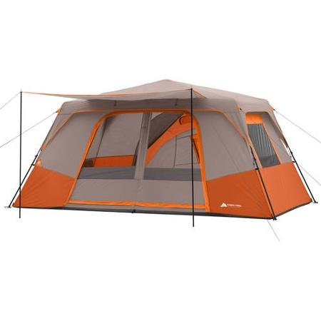 (Ozark Trail 11 Person 3 Room 14' x 14' Instant Cabin Tent (Orange))