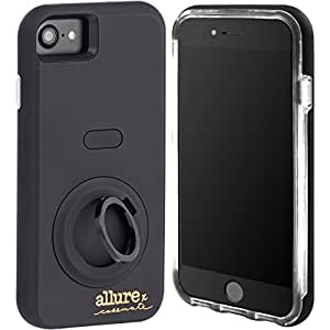 Case-Mate iPhone 7 case - Allure Selfie Case for iPhone 7 - Black (Compatible with iPhone 6/6s)