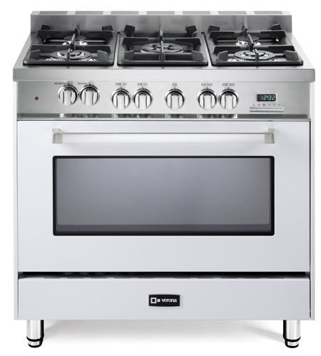4 Burner Dual Fuel Range - 8