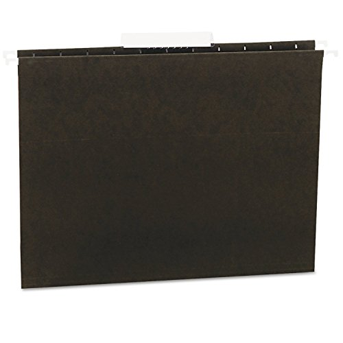 Universal 14113 Hanging File Folders, 1/3 Tab, 11 Point Stock, Letter, Standard Green, 25/Box