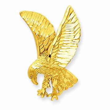 Petits Merveilles D'amour - 14 ct Or 585/1000 Eagle Pendentif Charm