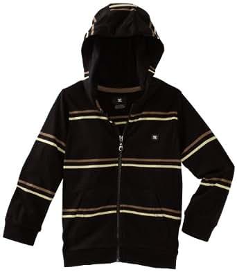 DC Apparel - Kids Little Boys' Wormser  Hoodie Sweater, Black, 2T