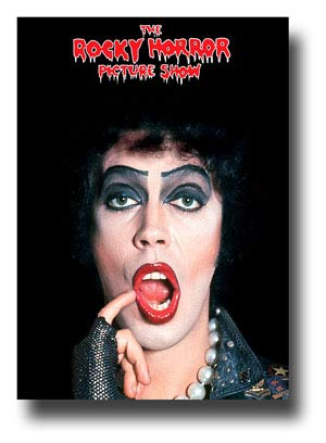 The Rocky Horror Picture Show Poster Movie Promo 11 x 17 inches Face