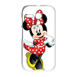 Disney Mickey Mouse Minnie Mouse Motorola G Cell Phone Case White present pp001_9632856