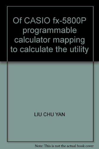 Casio Programmable Calculator - 7