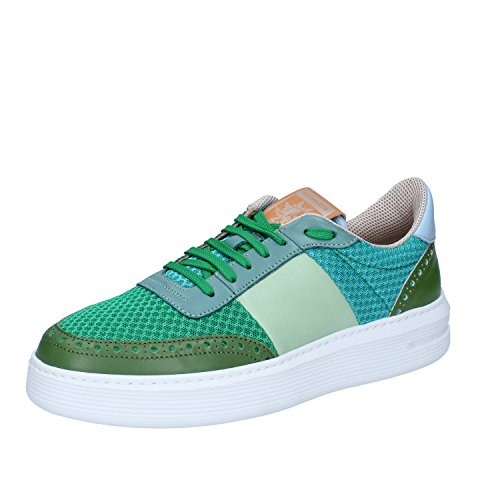 Brimarts Sneakers Uomo Tessuto/Pelle Verde