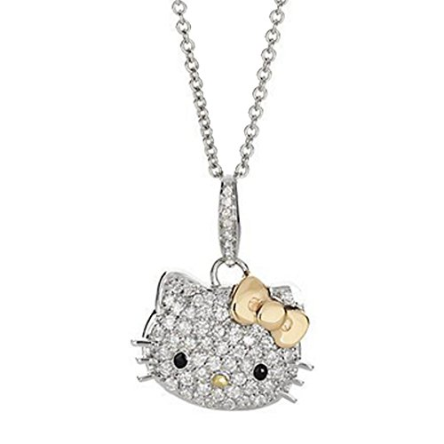 Wrapables Kitty Celebrity Pendant Necklace