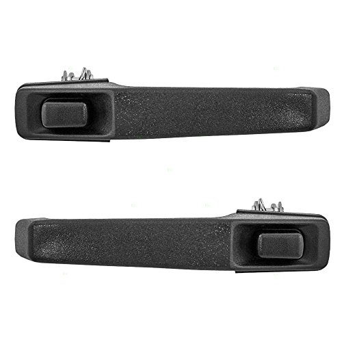 Driver and Passenger Front Outside Outer Door Handles Replacement for Jeep SUV 55024927 55024926