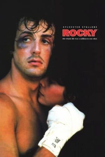 ROCKY III THREE SYLVESTER STALLONE Art Silk Poster 12x18 24x36