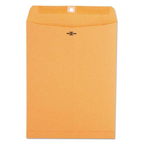 (Universal 35265 Kraft Clasp Envelope, Center Seam, 28lb, 9 1/2 x 12 1/2, Brown Kraft (Box of 100))