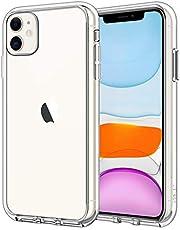 """JETech Cover Compatibile Apple iPhone 11 (2019) 6,1"""", Custodia Case con Assorbimento degli Urti e Anti-Graffio, Trasparente HD Chiaro"""