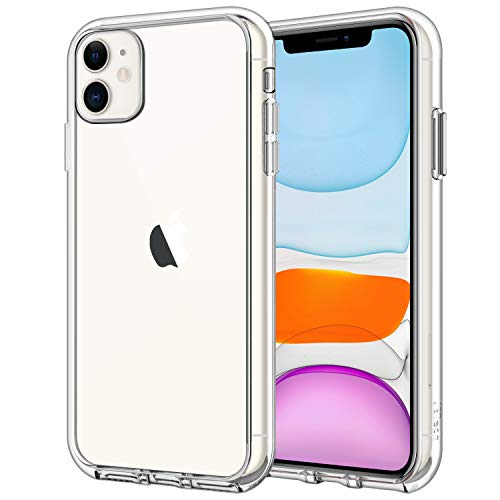 JETech Case Compatible iPhone 11, 6.1-Inch, Shockproof Bumper Cover, Anti-Scratch Clear Back (HD Clear)