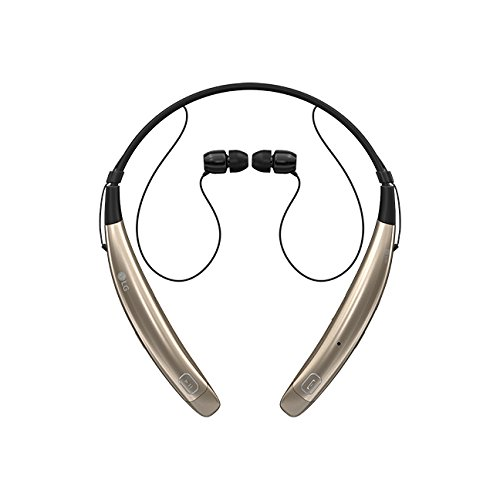 LG Electronics MAIN-69555 LG Tone Pro HBS-770 Wireless Stereo Headset - - Headset Gold Bluetooth