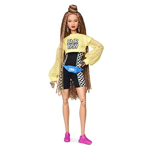Barbie BMR1959 Fully Poseable Fashion Doll with Braided Hair, Fully Poseable