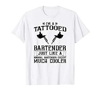 Amazon.com: Bartender - Camiseta de regalo para Bartender ...