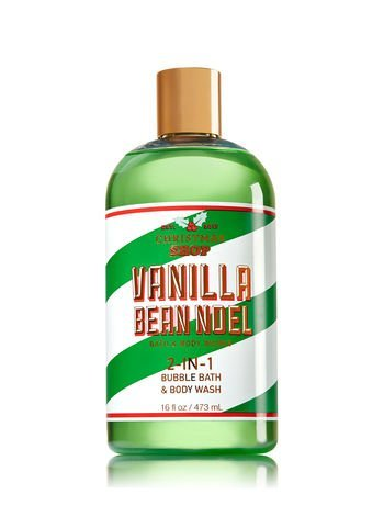 Christmas Shop Vanilla Bean Noel 2-in-1 Bubble Bath & Body Wash Bath & Body Works Wilson