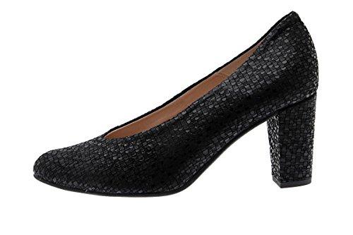 Cómodo Salón Negro Mujer Piesanto 175202 Zapato dEqCd