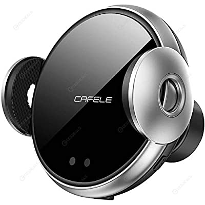 CAFELE Phone Wireless Car Charger QI Certified, with Auto Clamping System for Air Vent. Case Friendly. Compatible with Samsung Galaxy10 / S10 / S20 iPhone 11/11 Pro / 11 Pro Max, XS/XS Max/X / 8: Electronics
