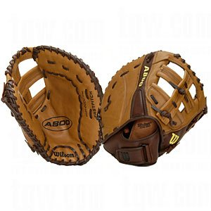 Wilson A800 Series Fast Pitch Mitt (12-1/2-Inch, Left-Handed Throw)