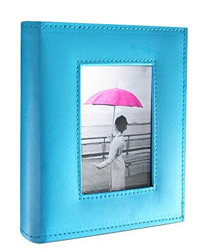 Kleer Vu álbum de fotos, piel sintético hecha A mano colección, Capacidad para 200fotos de 10.2x 15.2cm, 2por...