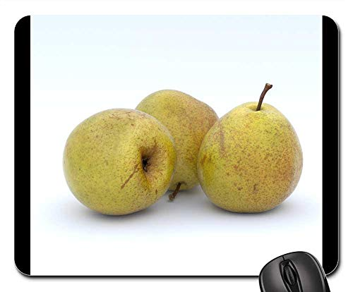 Mouse Pad - Pear Pears Yellow Fruit Fruits Vitamins Delicious