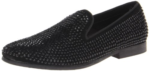 (Steve Madden Men's Caviarr Slip-On Loafer,Black,9.5 M US)
