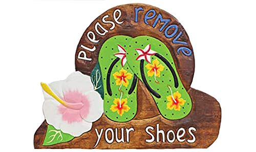 remove shoes sign hawaii - 5