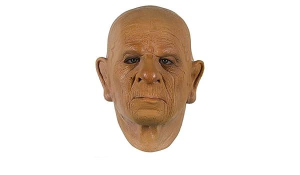 Horror-Shop Máscara De Látex De Espuma para El Abuelo: Amazon.es: Juguetes y juegos