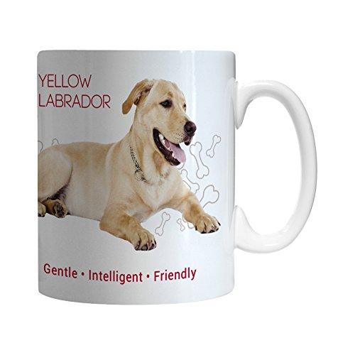 w Labrador Ceramic Mug, 11-ounce ()