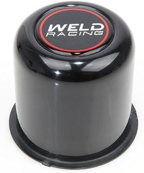 Weld Racing P605-5083 Polished 3.175 OD x 3.25 Tall Push Thru 5-Lug Replacement Center Cap