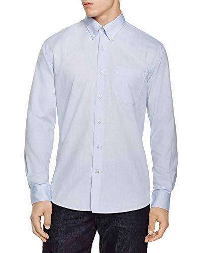 - Bloomingdale's Mens Regular Fit Egyptian Cotton Oxford Shirts Large L Light Blue