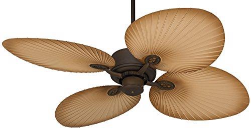 """52"""" Casa Vieja Aerostat Wide Palm Outdoor Ceiling Fan"""