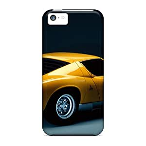 Premium Miura Side Rear View Heavy-duty Protection Cases For Iphone 5c