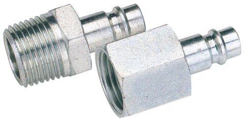 Draper 1/8' Bsp Male Nut Pcl Euro Coupling Adaptor (Sold Loose) Draper Tools