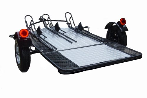 Amazon Com Trinity Mt3 A 3 Rail Motorcycle Trailer Your Order