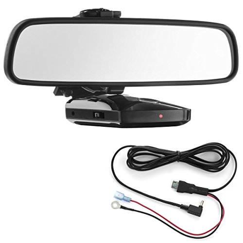 Radar Mount Mirror Detector Bracket