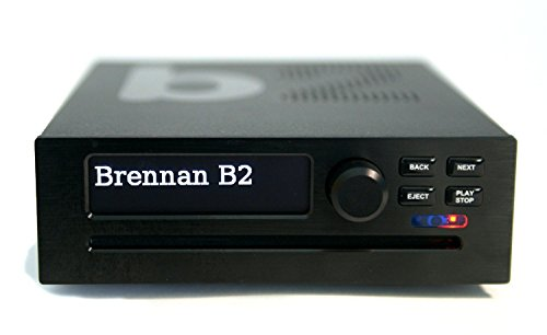 Brennan B2 2TB Black HiFi - Hard Disk CD Ripper & Recorder, Storage and Player with Bluetooth, YouTube, Internet Radio, Stereo Power Amplifier, NAS, Wav, Lossless (FLAC) and MP3.
