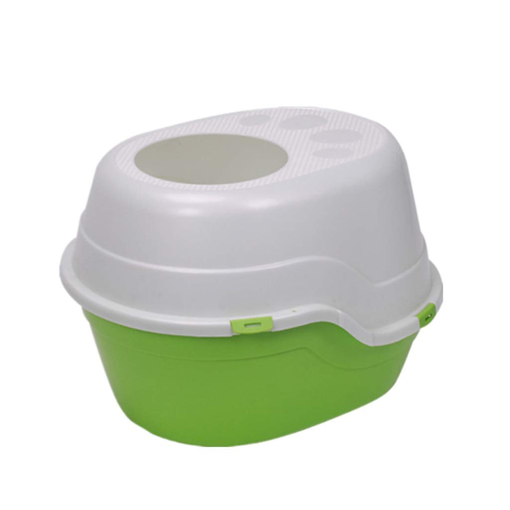 ... Gato Camada Bandeja Plegable Fácil Cuenco Grande para Chapoteo Prueba Grasa Caja Bentonita Limpieza Baño (Color : C): Amazon.es: Productos para mascotas